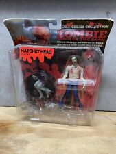 DAWN OF THE DEAD 1978 ACTION FIGURE - HATHCET HEAD ZOMBIE-NEW