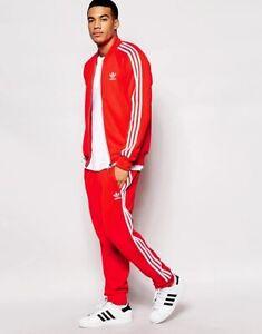 asesinato idioma haga turismo  Las mejores ofertas en Adidas Rojo trajes y conjuntos para hombres | eBay