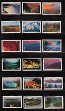 C133 - C150 SCENIC AMERICAN LANDSCAPES COMPLETE SET VF MNH