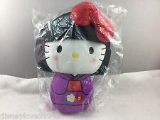 Hello Kitty 40th Kokeshi Doll Plush Logo JANM Japan Museum NIP