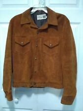 Vintage The Crescent Spokane Mens Store Brown Suede Bomber Jacket Size 38 Canada