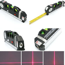 3 in 1 Laser Level Aligner Horizon Vertical Cross Line Measure Tape Ruler Spirit