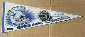 1994 DALLAS COWBOYS SUPER BOWL XXVIII CHAMPIONS Pennant