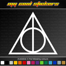Deathly Hallows - Harry Potter Vinyl Sticker Decal for car, ute, truck, window