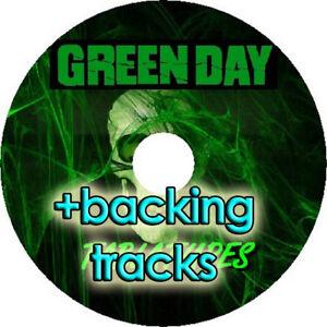 GREEN DAY BASS & GUITAR TAB CD TABLATURE + BACKING TRACKS BEST OF PUNK ROCK