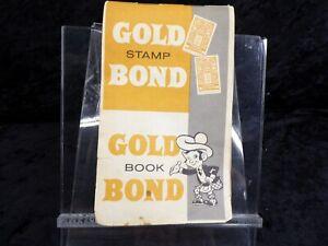Antique Gold Bond Stamp Book