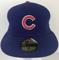 Chicago Cubs NEW Era 59FIFTY On Field Cool Base Fitted Hat Cap Sz 7