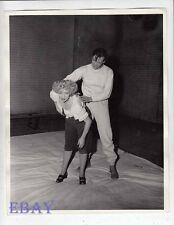 Ann Sothern does judo Mark Daniels VINTAGE Photo Undercover Maisie