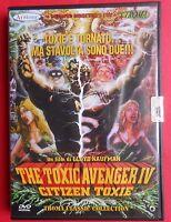 dvd the toxic avenger IV citizen toxie lloyd kaufman lemmy motorhead stan lee gq
