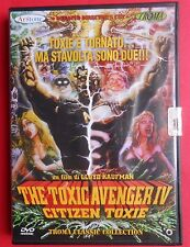 dvd the toxic avenger IV citizen toxie lloyd kaufman lemmy motorhead stan lee gq