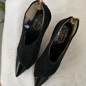 Ted Baker Kitten Heel Ankle Boots