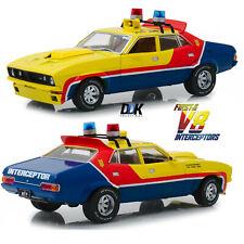 Greenlight 13574 1974 Ford Falcon XB 4-Door Sedan MFP Yellow Diecast Car 1:18