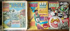 Vintage Eagle Comic - Dan Dare - 1980's - Inc Original Issue #1 +  24 Others