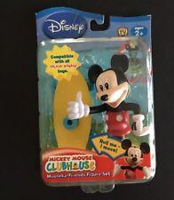 Disney Mickey Mouse Clubhouse Talkin Bobbin Mouseka Friends Skateboard Figure