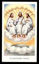 santino-holy card EGIM n.212 LA SANTISSIMA TRINITA'