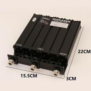 L:462.675 H:467.675 UHF 6 DUPLEXER for Motorola radio repeater N Connector