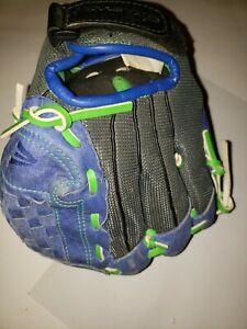 "Easton RHT 9"" Youth Tball, Softball Mitt ZFX901 Blue"