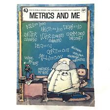 Vintage 1976 Saturday Evening Post METRICS AND ME Education Student Workbook