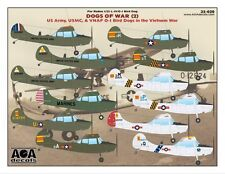AOA decals 1/32 DOGS OF WAR 2 US Army/USMC/VNAF O-1 Bird Dogs in the Vietnam War