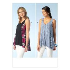 KWIK SEW SEWING PATTERN MISSES' SLEEVELESS PULLOVER TOPS SIZE XS - XL K4101