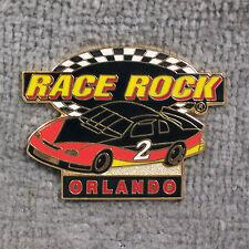HAT PIN ~ RACE ROCK ~ ORLANDO ~ STOCK CAR