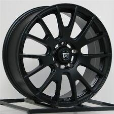 18 Inch Wheels Rims Black Honda Accord Civic Ford Edge Escape Flex Fusion 5 Lug