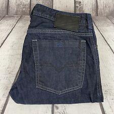 Diesel Mens Zatiny Regular Boot Cut Dark Wash Denim Jeans Size 33x30
