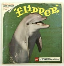 Flipper 21 View Master Stereo 3D Pictures Vintage 1966 Complete Packet B485