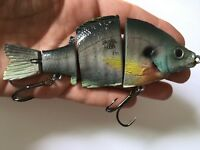 Bluegill Swimbait Floating Topwater Realistic Custom Handcrafted Gill