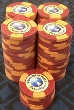 86 CLAY POKER STARS casino grade WORLD CUP POKER ASM CHIPS A MOLD FREE SHIPPING