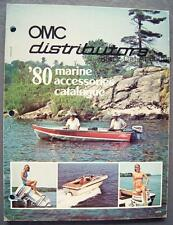 Original Vintage 1980 OMC Distributors Marine Accessories Catalog Canada