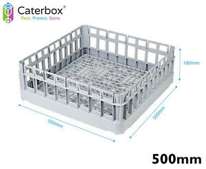 Classeq 500mm Open Glasswasher Basket    Commercial Glass Washer Basket