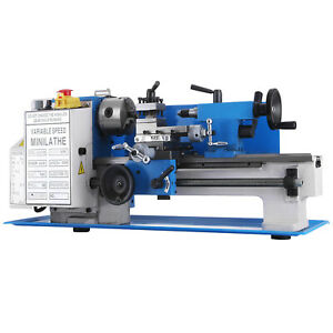 550W 0618-3B Mini Tornio in Metallo Autocentrante Tooling Cutter Digitale