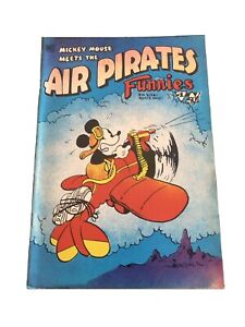# 1 MICKEY MOUSE MEETS AIR PIRATES FUNNIES DISNEY PARODY BANNED! 1971 COMIC