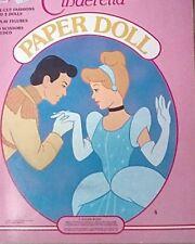 Disney Cinderella Paper Doll, Great Conditio 00004000 N