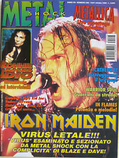 METAL SHOCK 226 1996 Iron Maiden Metallica Ronnie James Dio In Flames Cathedral