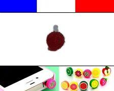 Cache anti-poussière jack universel iphone capuchon bouchon Boule strass 8