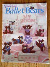 Ballet Bears Plastic Canvas Patterns Needlecraft Shop 1990