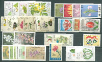 FLOWERS 10 Different Complete Sets MNH VF OFFER!!