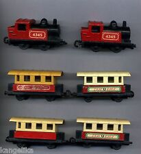 Matchbox--Superfast--Konvolut-Lokomoitiven-Steam-1978-Waggons--
