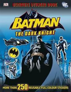 NEW Batman the Dark Knight: Ultimate Sticker Book by DK