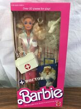 Mattel Collector Barbie Doll Sealed Box Doctor Barbie 1987 New in Box