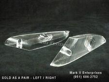 1961-62 Chrysler Newport 300 DeSoto Adventurer Park Lamp Lenses Pair NOS QUALITY