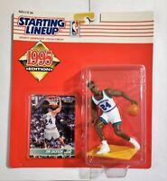 Starting Lineup JIM JACKSON 1995 action figure and card SLU Kenner Mavericks NBA