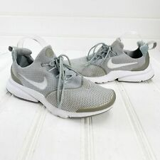Nike Air Mens 9.5 Presto Uncaged Triple Gray White Shoes Sneakers Athletic Run