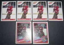 Stefan, Greg RC 1984-85 Topps NHL O-Pee-Chee 6 Card Lot