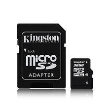 Kingston 32GB 32G Class 10 Micro SD Micro SDHC Flash Memory Card TF