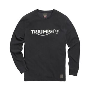 Mens Triumph Bettmann Long Sleeved Waffle T-Shirt