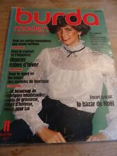 MAGAZINE BURDA VINTAGE ROBE  VESTE PANTALON JUPE blouse   ETC... 1977