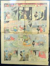 LITTLE NEMO SUNDAY Color Strip 11/24/1912 WINSOR McCAY Land Of Wonderful Dreams